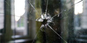a fragmented window pane.