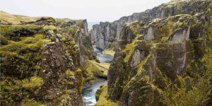 a rugged canyon